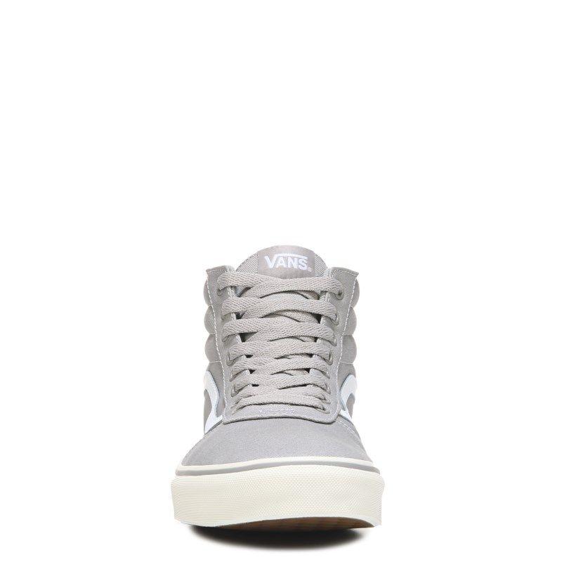 Vans Men's Ward High Top Sneakers (Drizzle/Marshmallow) - 11.5 M