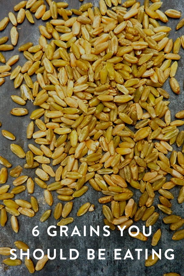 6 Grains You Should Be Eating