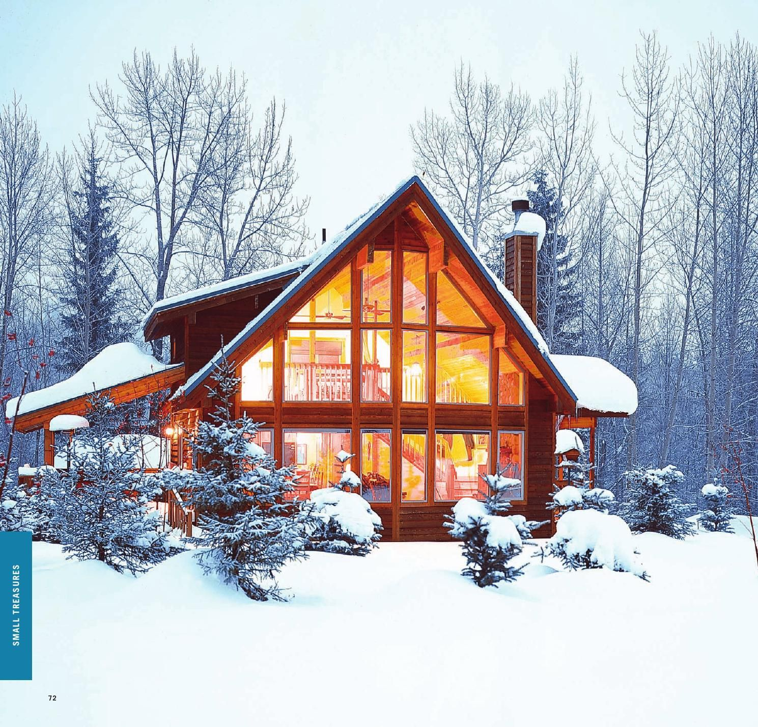 Living dreams part one gallery by lindal cedar homes for Lindal log cabin homes