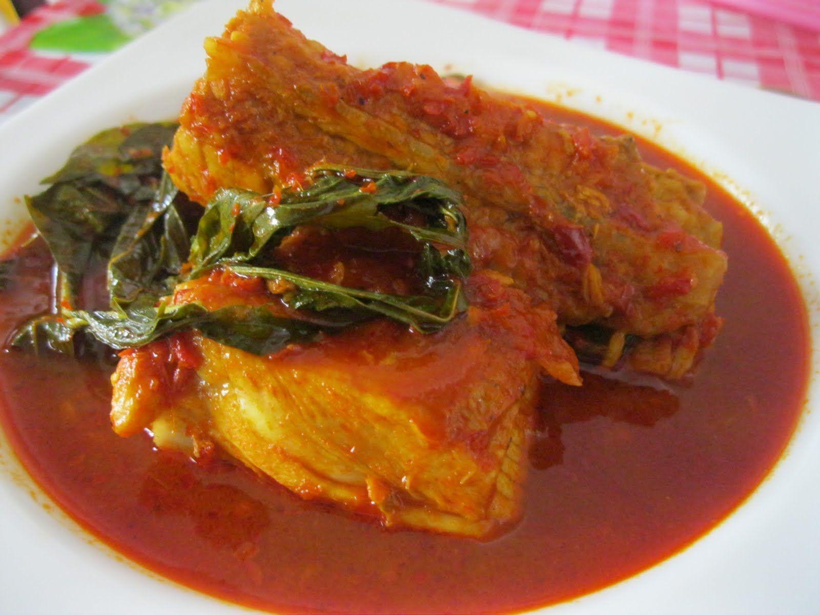 Dari Dapur Maklong Masak Asam Pedas Ikan Pari Malaysian Cuisine Pedas Seafood Recipes