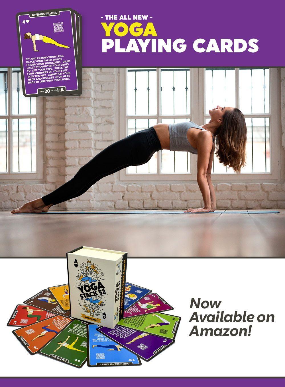 The Upward Plank Pose (Purvottanasana) is a fun Yoga