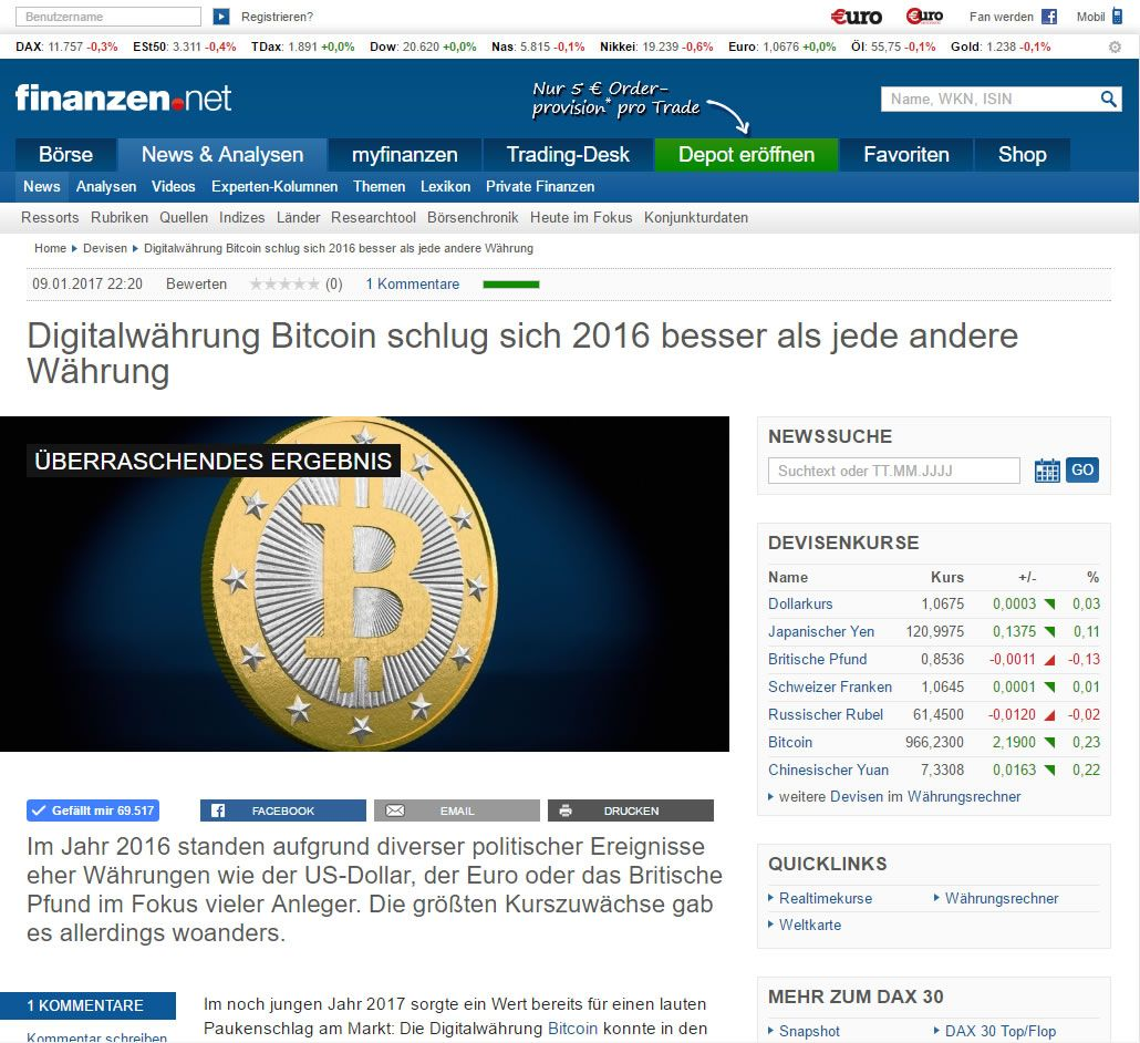 noticias sobre el bitcoin