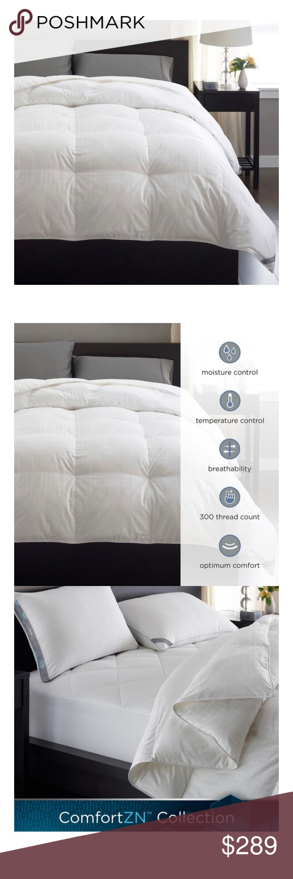 Sheex Comfortzn Comforter King Size In White Sheex Comfortzn Comforter King Size In White Down Alternative 37 5 Technology King Comforter Comforters King Size