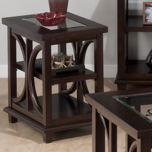 Jofran Panama Chairside Table - End Tables at Hayneedle