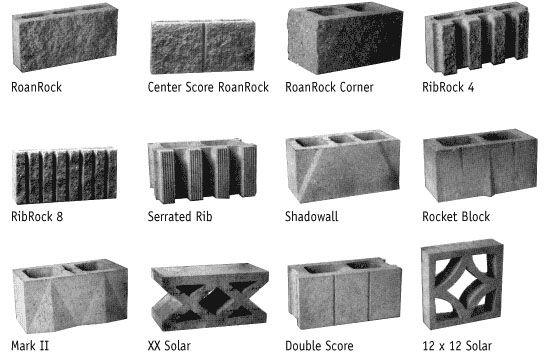 Modern Design Mid Century Decorative Concrete Screen Block