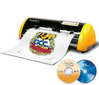 Best Vinyl Cutter Gcc Expert 24 Ii Lx Vinyl Cutter Plotter Contour Cutting  Art