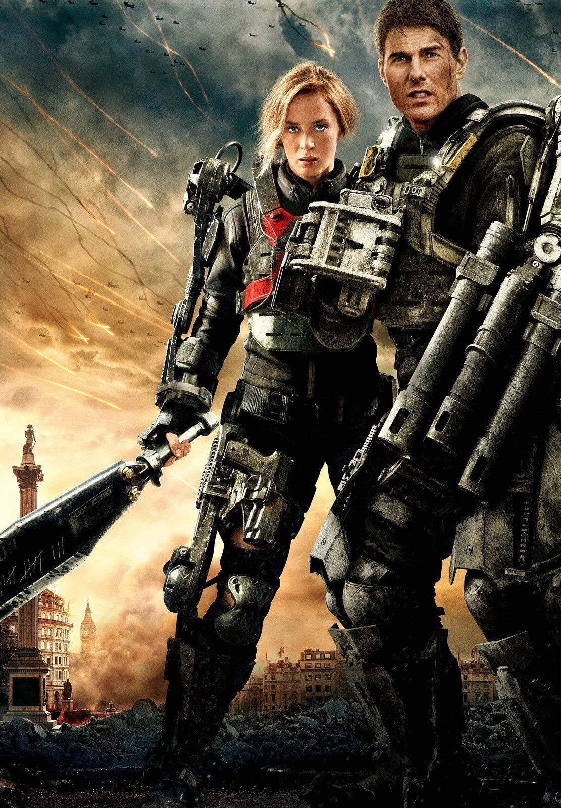 Edge Of Tomorrow Poster V16 Tom Cruise Emily Blunt 24 X 36