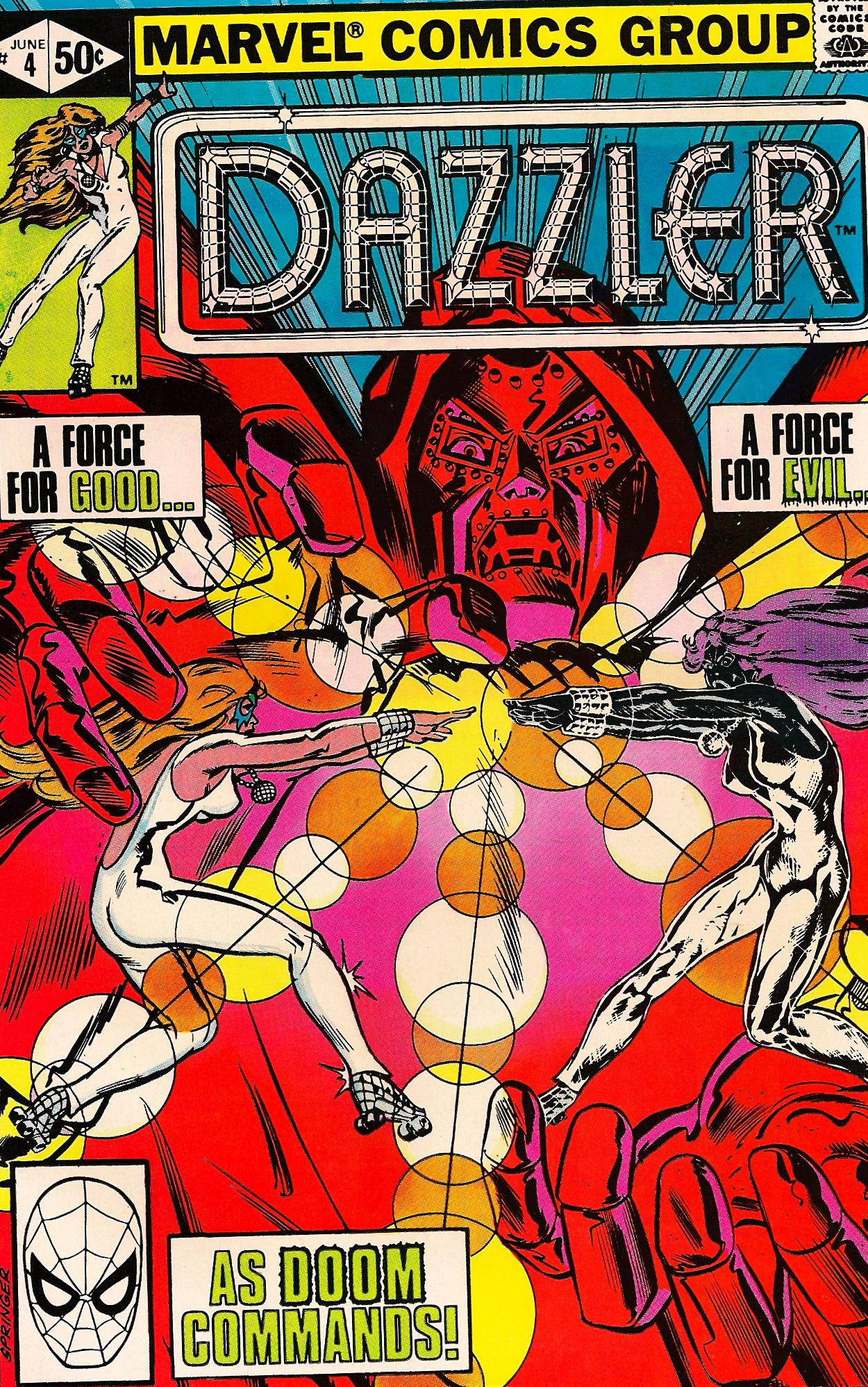 Dazzler 4 jun vintage comics covers marvel comic