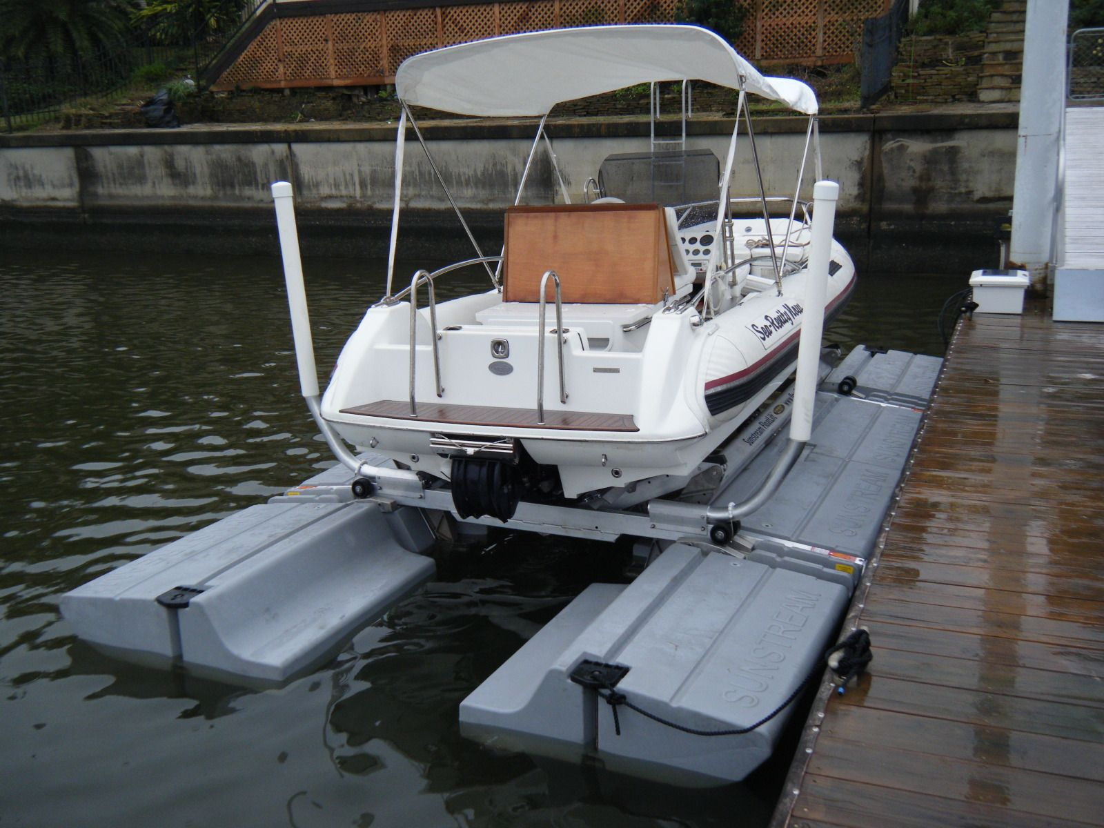 Sunstream Float Lift Floating Boat Boat Dock Boat Lift