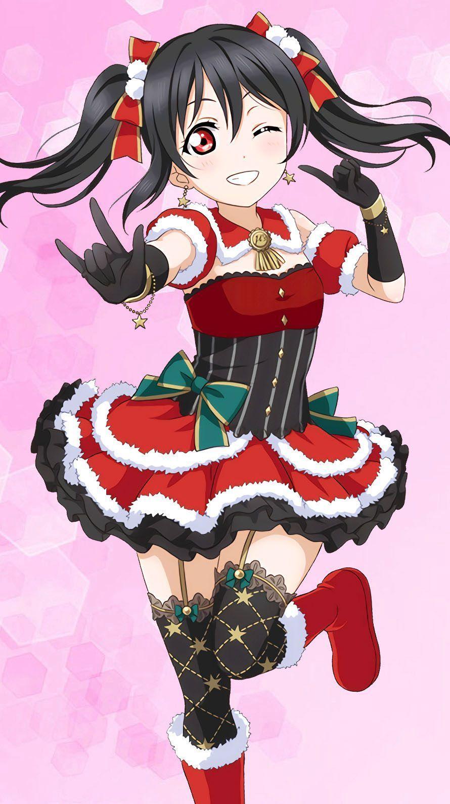 Love Live School Idol Project Anime navideño, Chica anime
