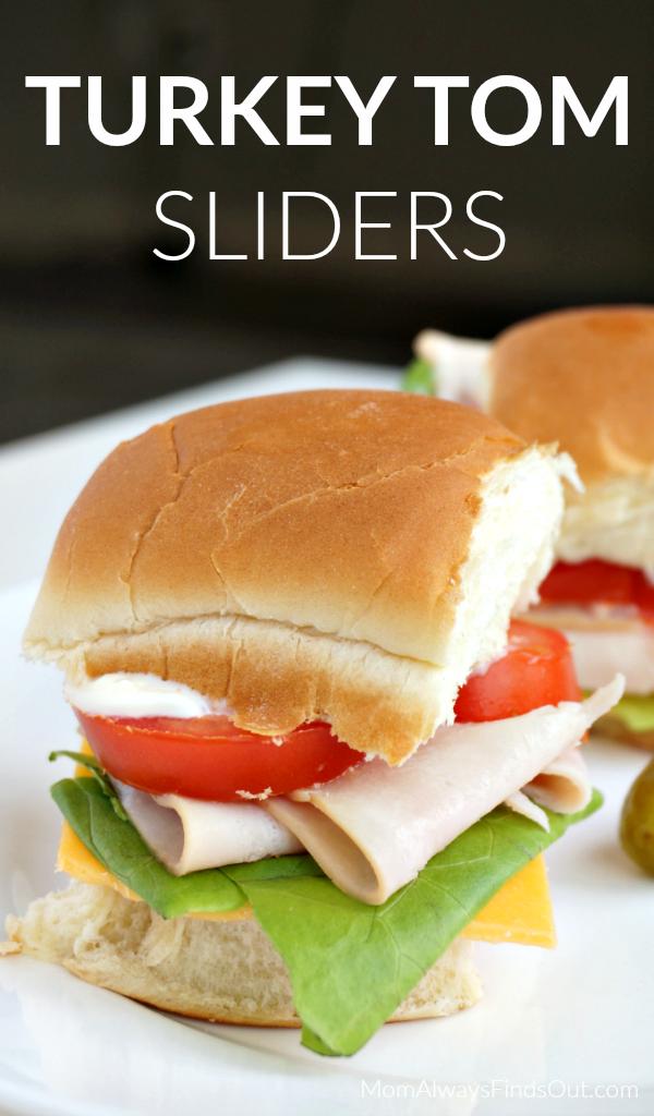 Turkey Tom Slider Sandwiches Recipe Save On Best Foods Mayonnaise At Kroger Mom Always Finds Out Recipes Slider Sandwiches Food