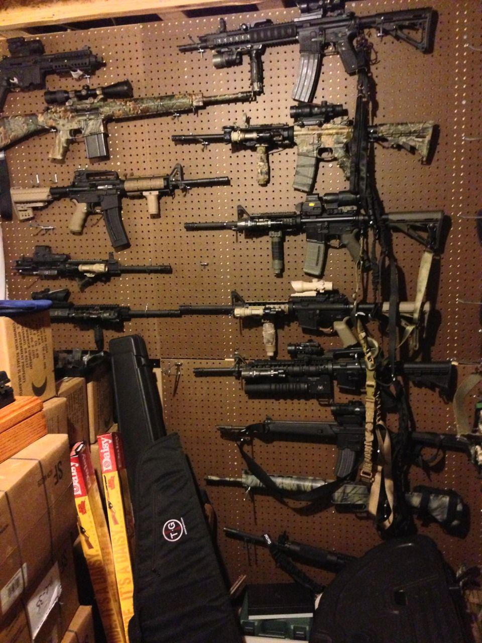Ar wall my gun list pinterest nice houses and my house