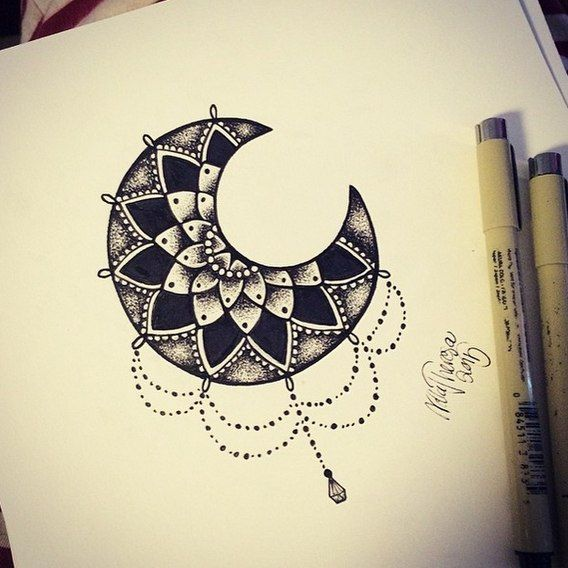 pingl par yoan verot sur tatoo lune pinterest tatouage idee tattoo et tatouages mandala. Black Bedroom Furniture Sets. Home Design Ideas