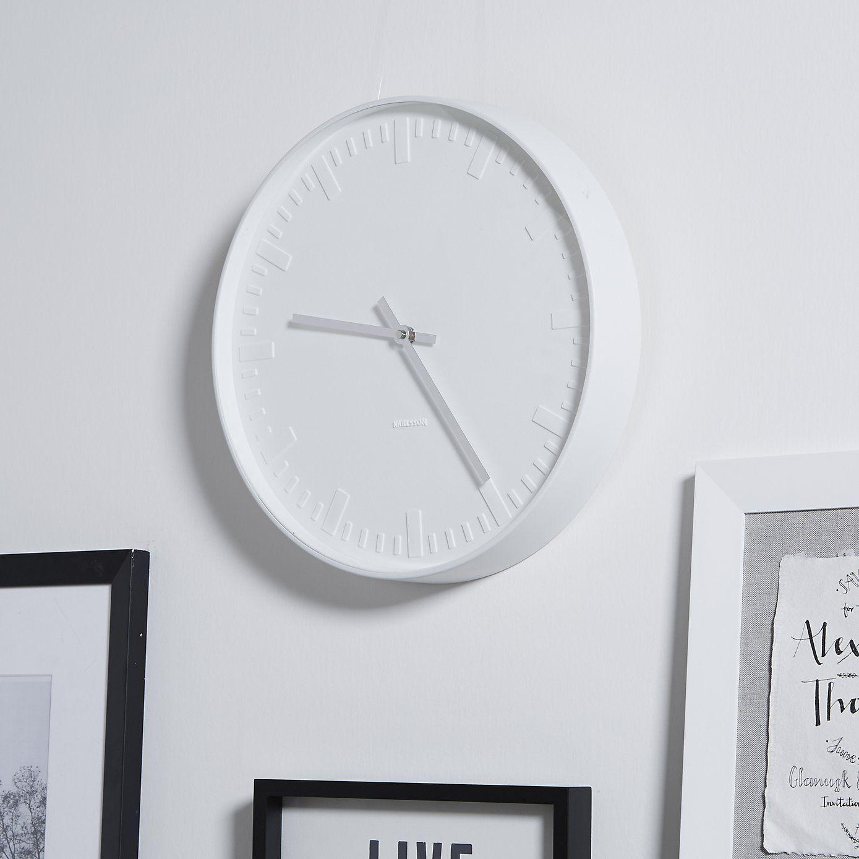 Matte Enamel Karlsson Clock The White Company White Clocks
