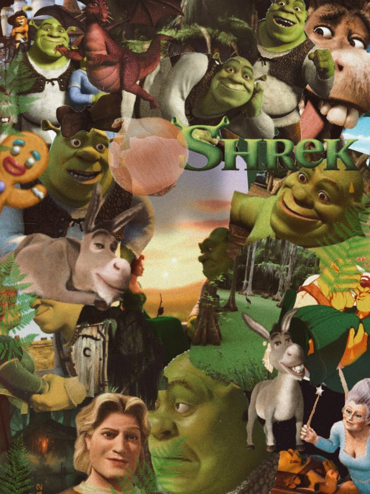 Shrek Background In 2020 Shrek Cute Disney Wallpaper Disney Wallpaper
