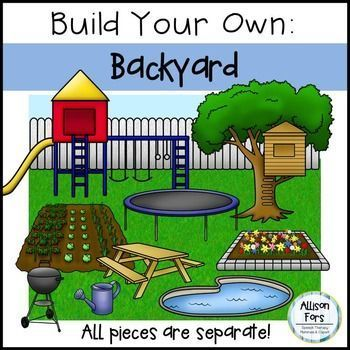 Build Your Own Backyard Clip Art | AWESOME clip art and ...