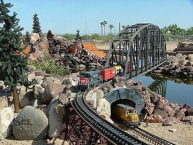 Tour Model Train Displays At The Arizona Model Railroading Society