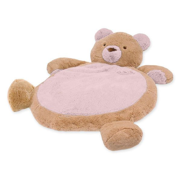 Soft And Snuggly Floor Mat In The Shape Of A Friendly Animal Is A Perfect Way To Cushion Little Ones As They Spend Supervis Baby Mat Blue Teddy Bear Baby Plush