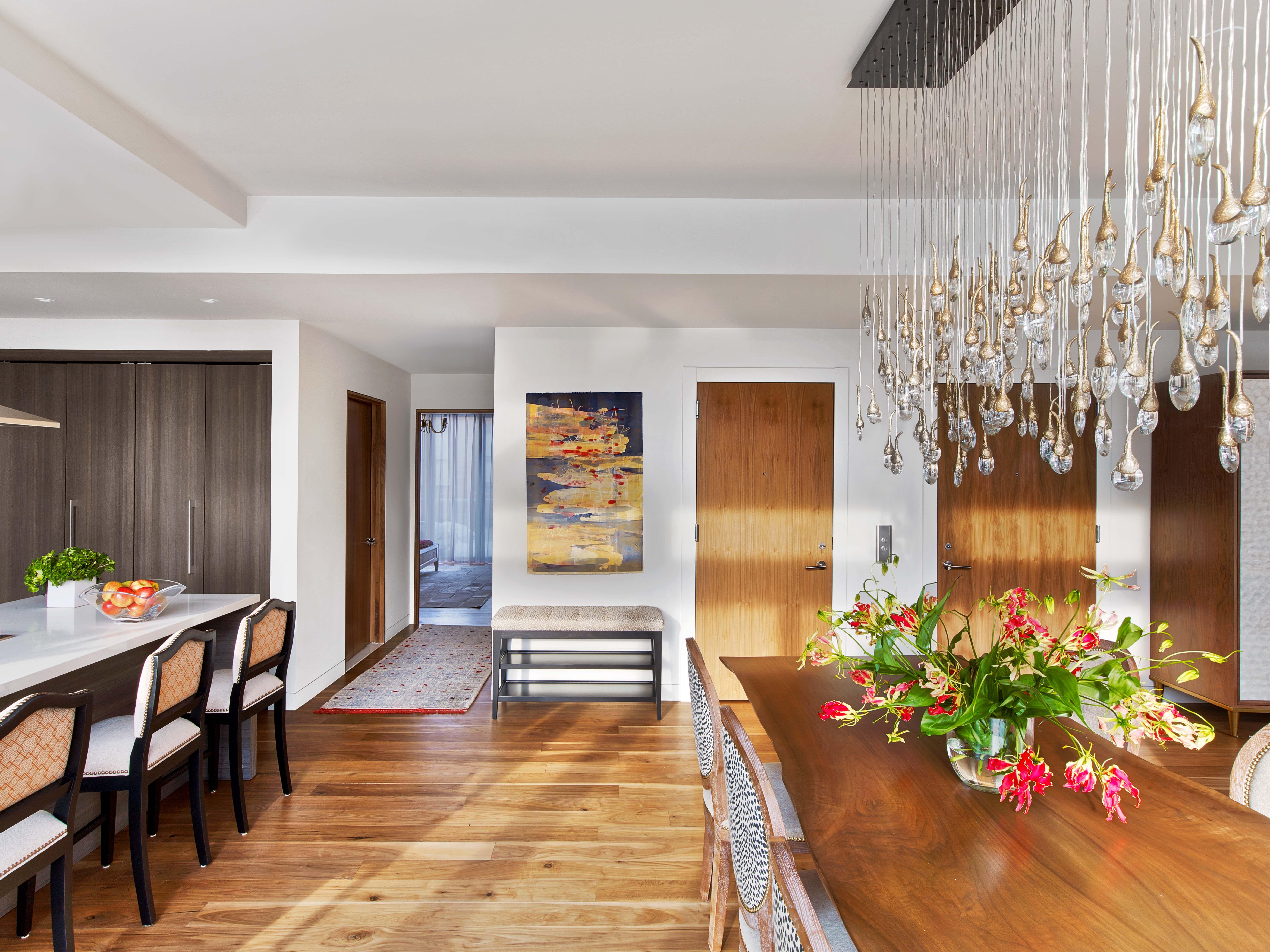 Kitchen Designers Nyc Gorgeous Chelsea Penthouse Kitchendining Room  Kati Curtis Design  Nyc Inspiration