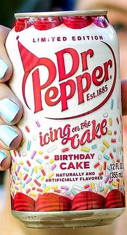 dr pepper limited edition est 1885