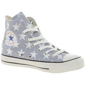 Converse All Star Print Trainers Grey