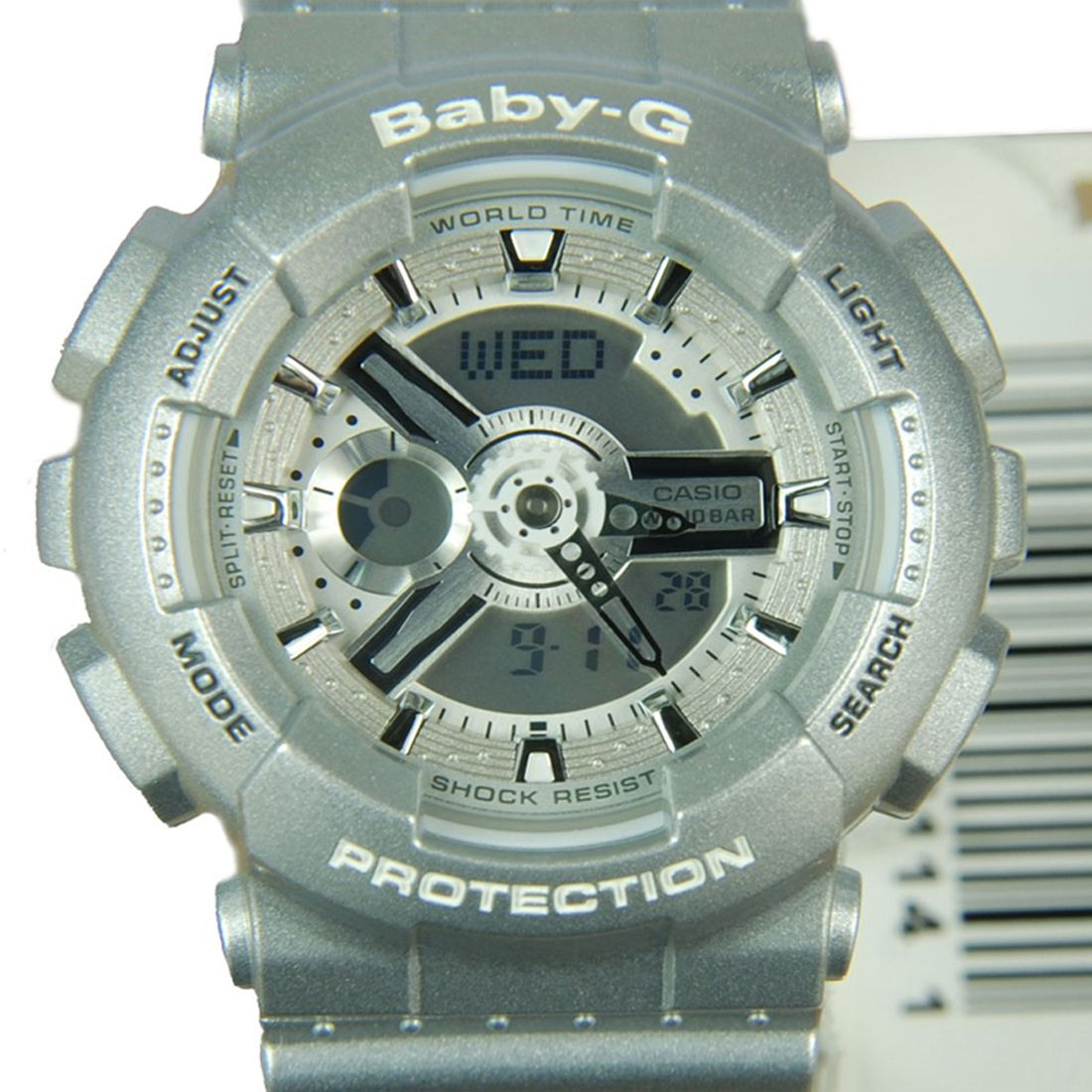 Casio Quartz Baby G Ladies World Time Sports Watch Ba 110 8adr 110sn 3a