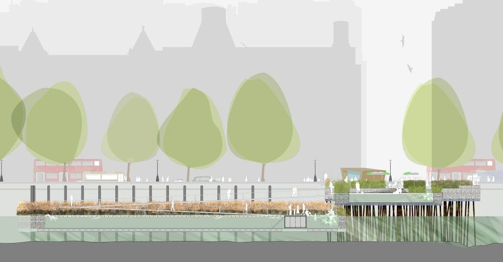 Studio Octopi Begins Crowdfunding Campaign For A Lido On London's River Thames