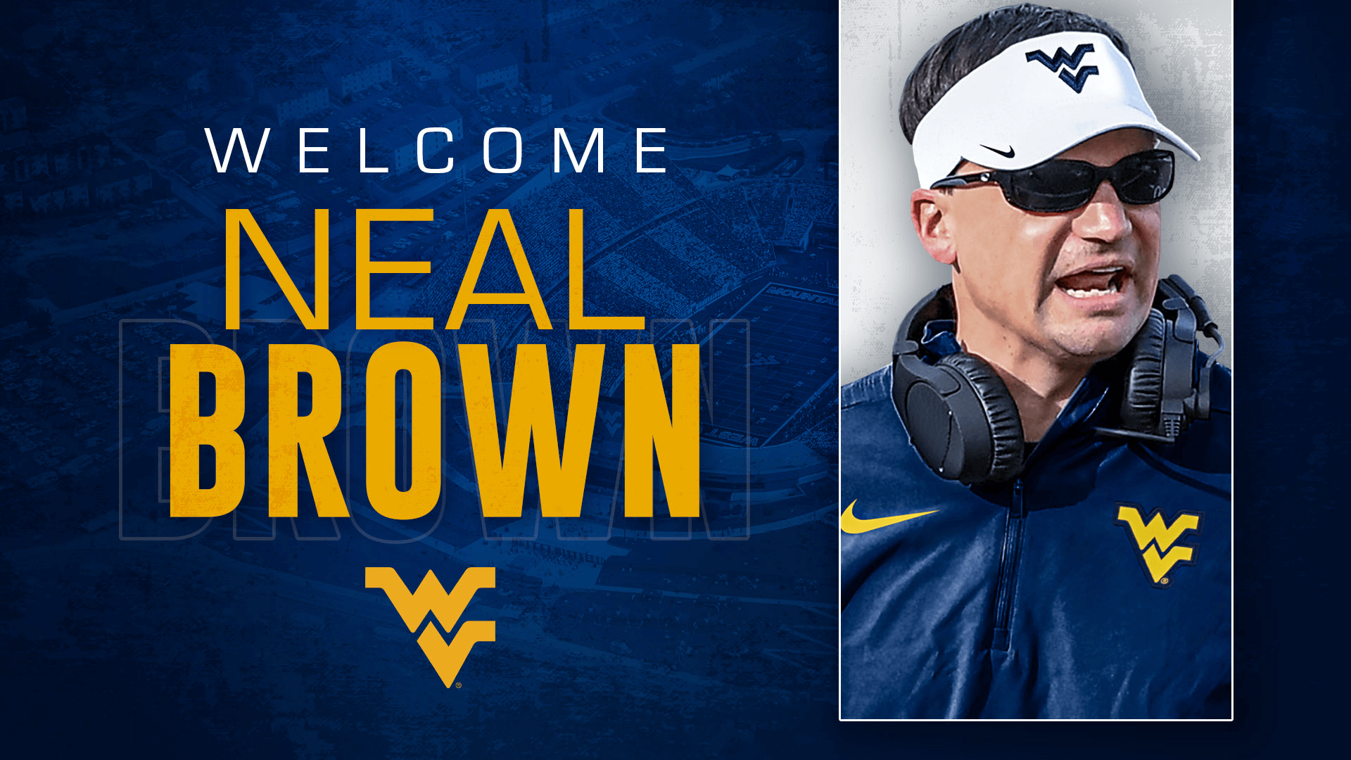 Pin by on wvu sports in 2020 Neal brown, Wvu