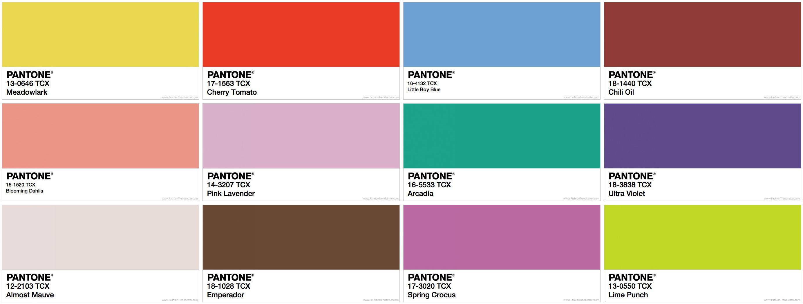 The Newest Pantone 2018 Design Collections are here, and Only ...