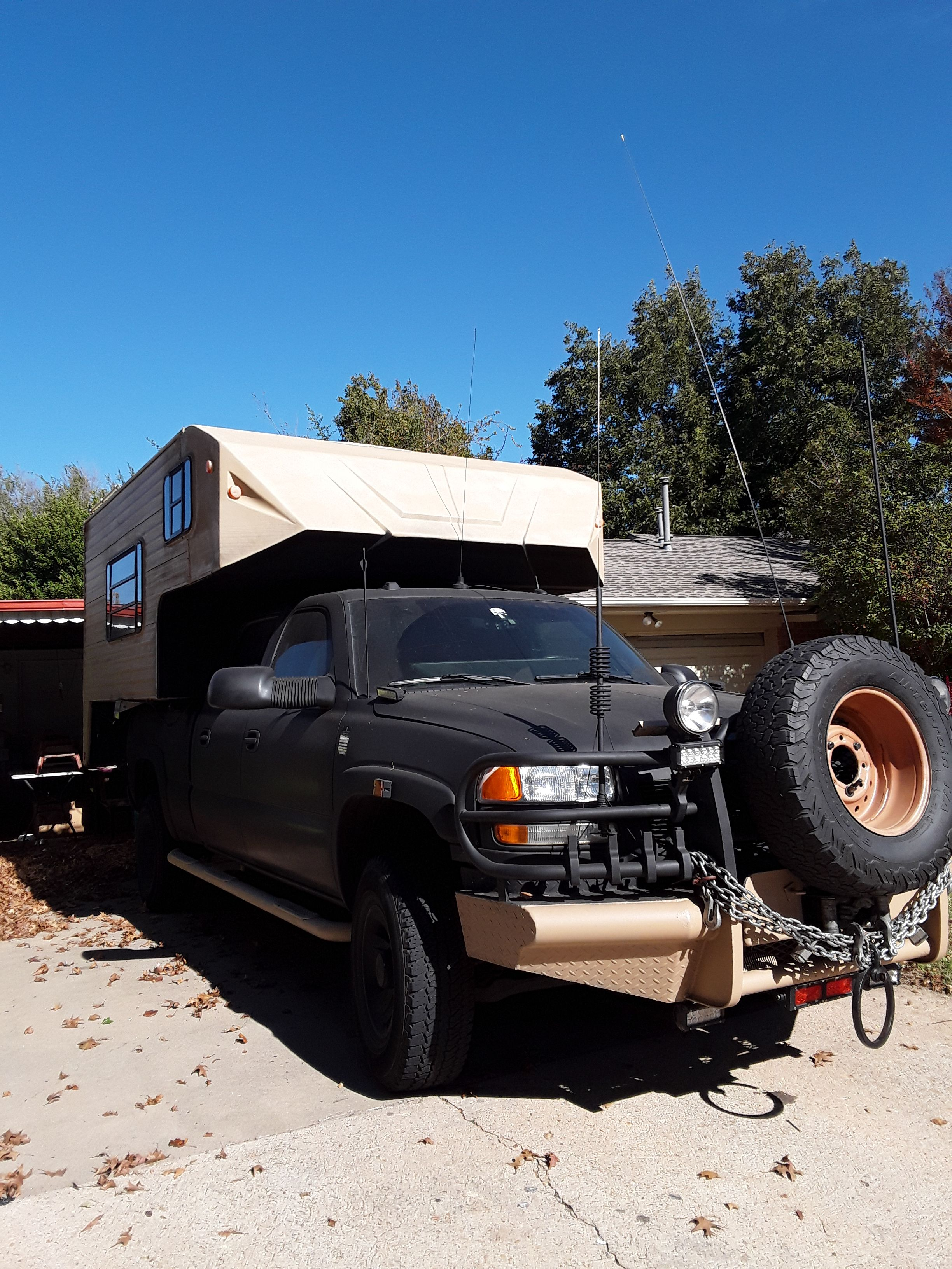 Diy expeditionbug out truck inspired by mad max