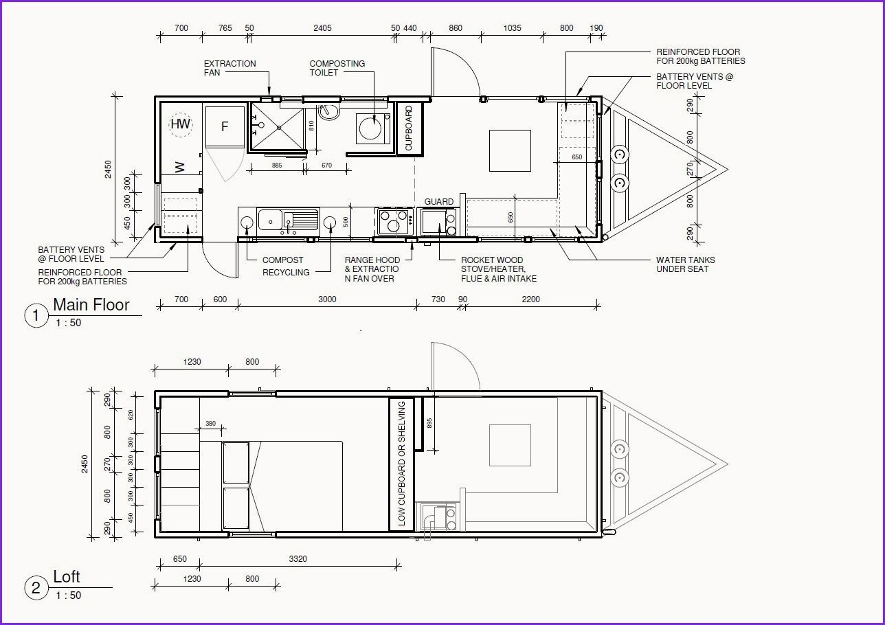 Awesome Tiny Houses On Wheels Floor Plans In