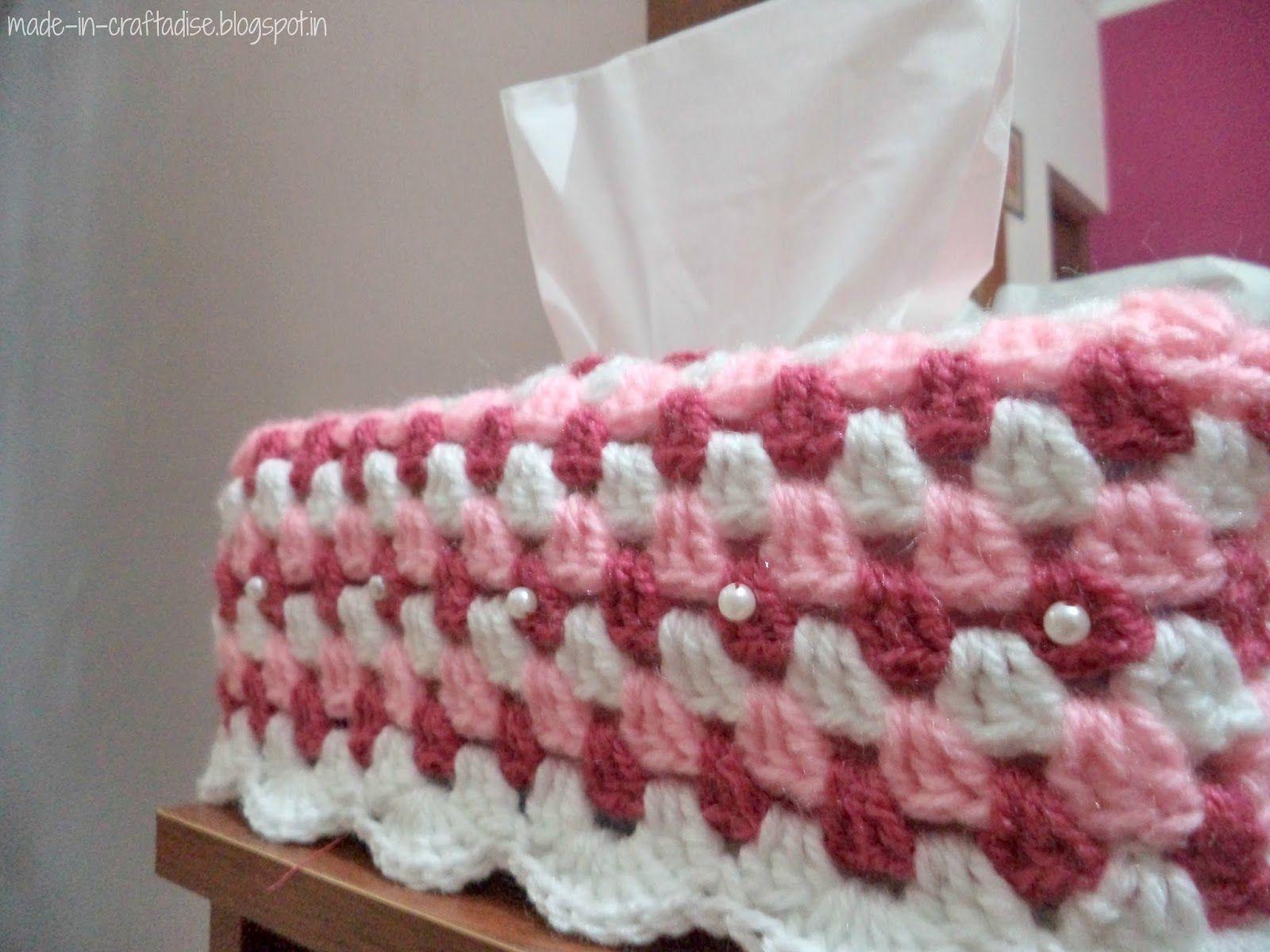 Crochet Kleenex box | Crochet: For The Home | Pinterest