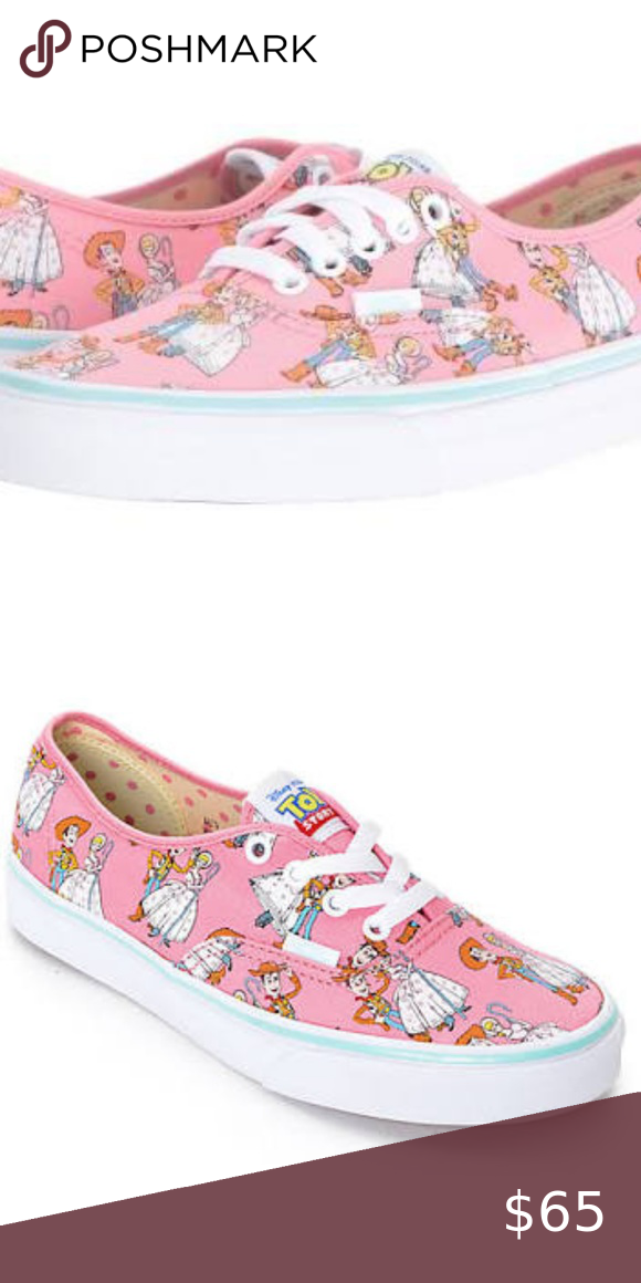 e43ff4607f 🆕️VANS Authentic Toy Story Woody Bo peep Brand New with original box  Womens 10