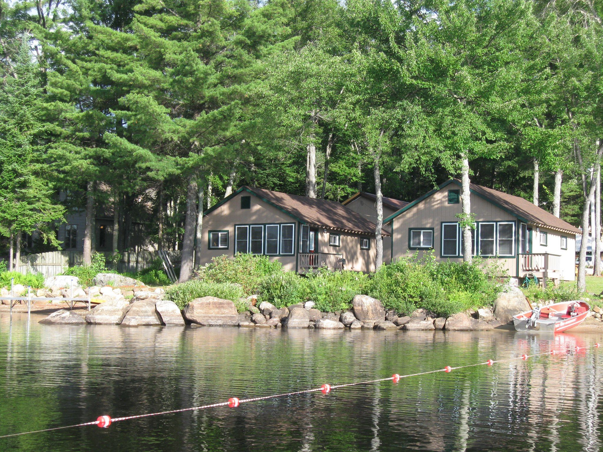 luxury an north all off adirondacks inclusive rustic cabin rentals lakefront vacation shore cabins log lodge pin saranac cottage and is dry of adirondack upper rental island boathouse