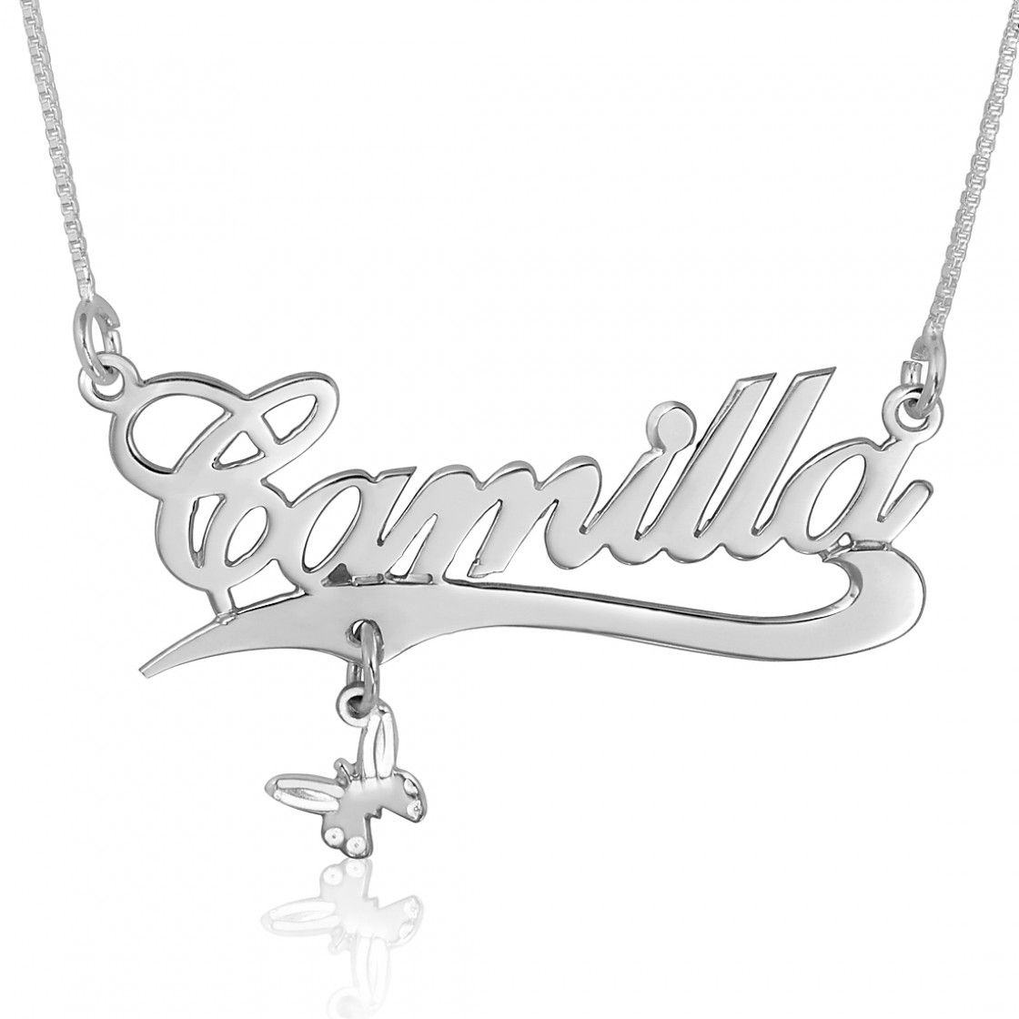 Shop our best sellers like this allegro butterfly name necklace with