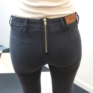 e4f2887db0eb Acne reverse zip jeans. awful name for a clothing company but they have  some great, different pieces