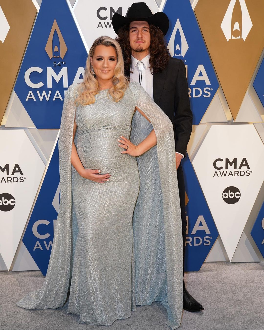 Gabby Barrett On Instagram The 3 Of Us What An Honor To Be Apart Of The Cma Awards This Year Thank Y All So Much First Baby Cade Gabby