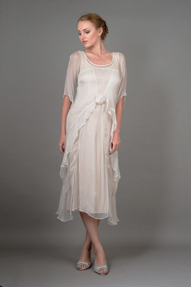Gorgeous vintage style romantic dress from vintage inspired designer