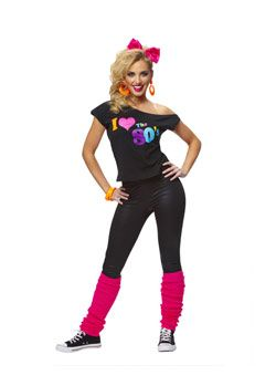 The 80s Halloween Costume For Teen Girls And Women