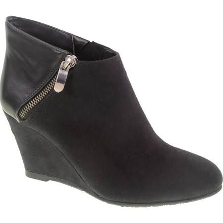df56ef3a4dc Cl By Laundry Valor Wedge Ankle Bootie Zipper Detailed Ankle Boot ...