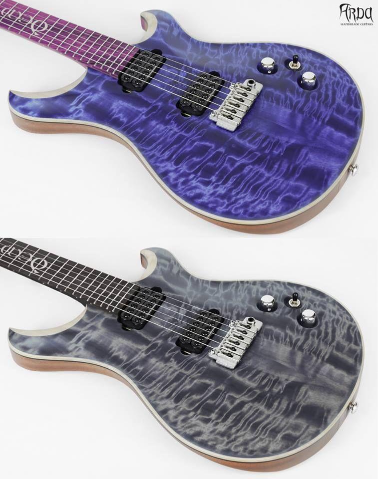 Arda Guitars - Chitarre elettriche di liuteria - Handmade Guitars ...