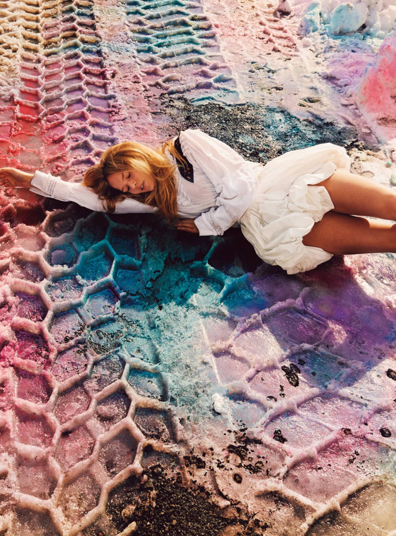 Anna Ewers photographed by Ryan McGinley, styled by Edward Enninful; W Magazine April 2016