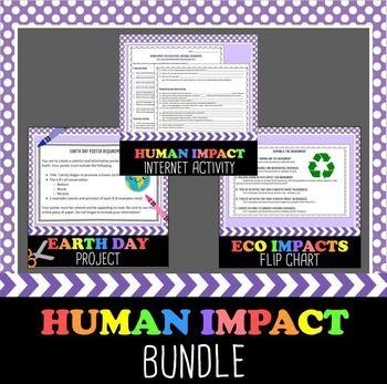 Human Impact on the Environment Bundle and Save!Bundle ...