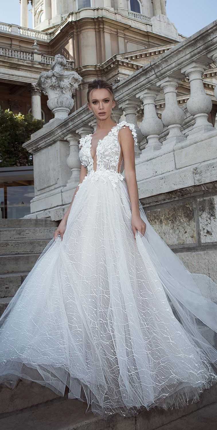 Oved Cohen 2018 Wedding Dresses Beautiful And Sexy Dress Lace Gown Mermaid Bridal Weddinggown: Beautiful Wedding Dresses With Diamonds At Websimilar.org