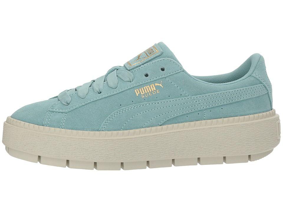puma sneakers platform trace flowery