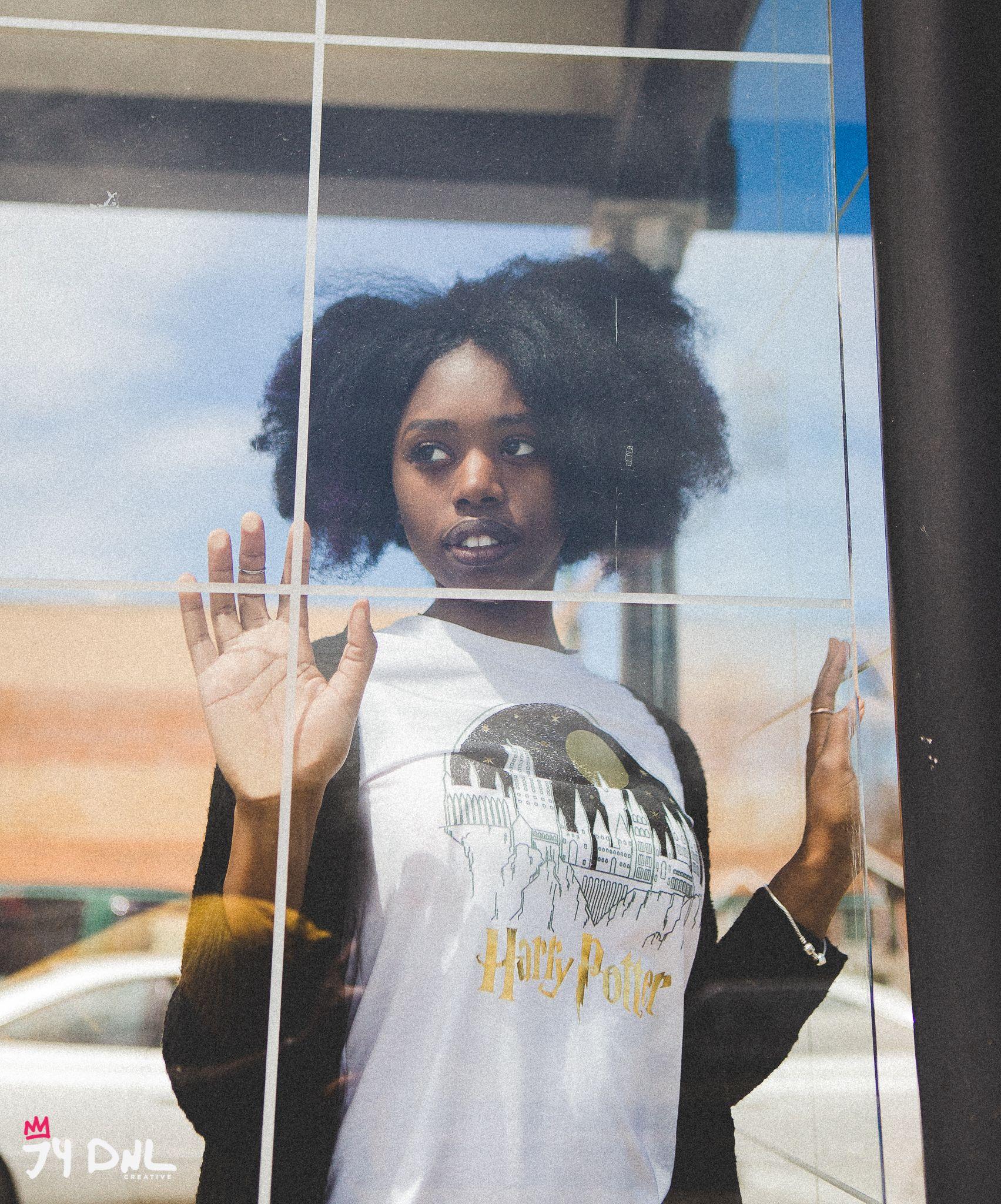 Avona Elizabeth. Black Girl Lifestyle Portrait. Chicago