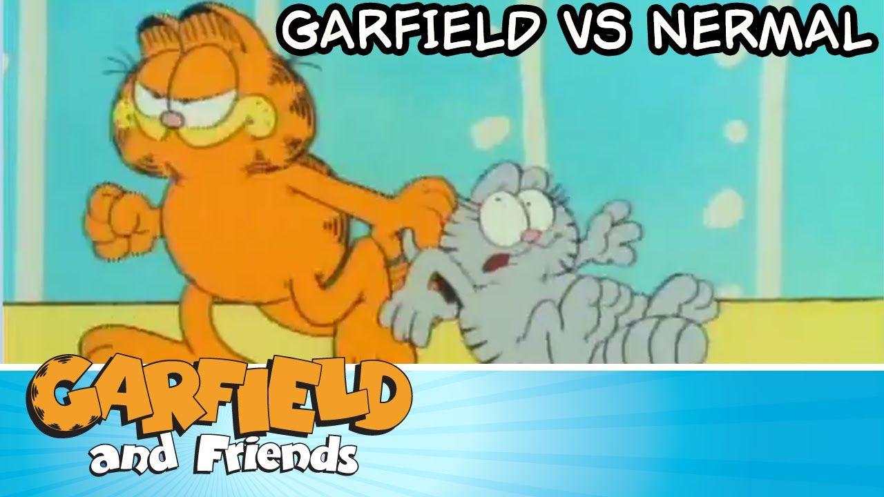 Garfield Vs Nermal Garfield Friends Garfield Cartoon Comic Strips