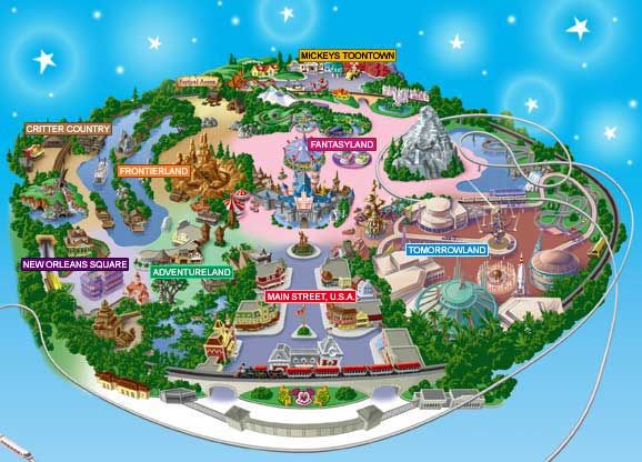photo relating to Printable Disneyland Maps identify Disneyland, CA Favored Sites Areas Disneyland map