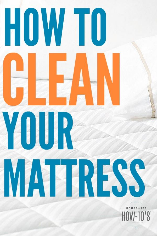 How To Clean A Mattress Kill Dust Mites Get Rid Of