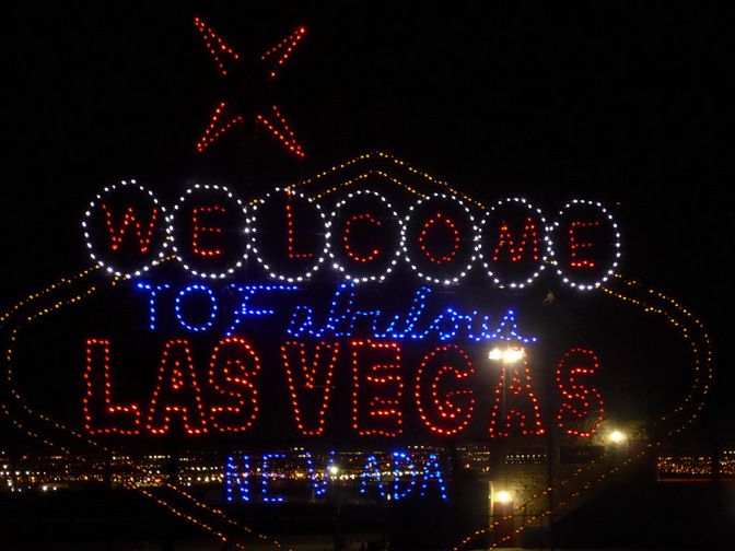 nevadas largest holiday drive thru light show glittering lights at las vegas motor speedway